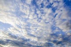Opacifie le ciel bleu Photographie stock libre de droits