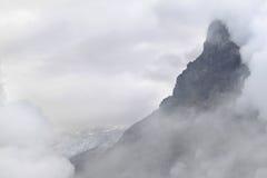 Opacità nelle alpi svizzere: Eiger e ghiacciaio Fotografie Stock Libere da Diritti
