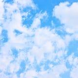 Opacité - nuages cotonneux image libre de droits