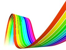 Opacity Multicolor Rainbow Stock Image