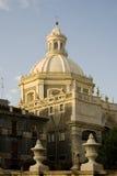 opactwa agata kościelna kopuła sant Obrazy Royalty Free
