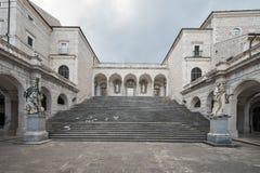 opactwa cassino Italy montecassino Obraz Royalty Free