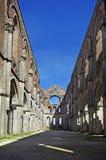 opactwa galgano Italy San Tuscan Obraz Stock