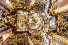 opactwa kościelny melk Paul Peter st Obrazy Royalty Free