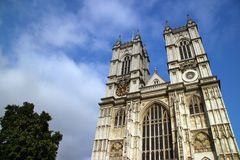 opactwo London Westminster zdjęcie royalty free