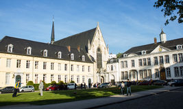 Opactwo los angeles Cambre, Ixelles, Bruksela, Belgia Obraz Royalty Free