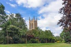 Opactwo ogródy wewnątrz Zakopują St Edmunds Fotografia Royalty Free