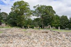 Opactwo ogródy Zakopują St Edmunds w Suffolk Zdjęcie Royalty Free