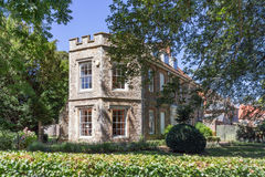 Opactwo ogródy Zakopują St Edmunds w Suffolk Zdjęcia Royalty Free