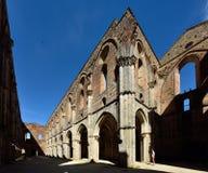 Opactwo San Galgano, Tuscany, Włochy zdjęcie stock
