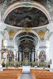 Opactwo St Gallen na Szwajcaria Zdjęcia Stock