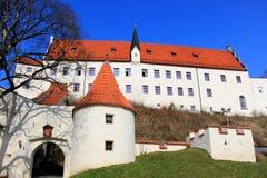 Opactwo w bavarian FÃ ¼ ssen Obrazy Royalty Free