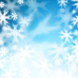 opad śniegu ilustracji