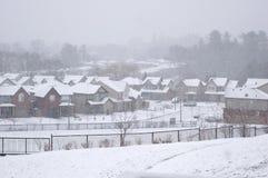opad śniegu Zdjęcie Stock