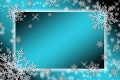 Opad śniegu royalty ilustracja