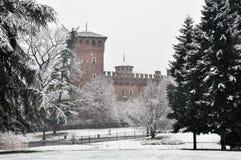 opad śniegu Turin Zdjęcie Stock