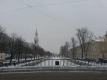 Opad śniegu w Haymarket Zdjęcia Royalty Free