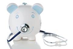 opadający gospodarki zdrowie oszczędzania niepokojący Zdjęcia Stock