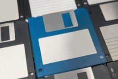Opadających dysków magnesowy komputerowy przechowywanie danych Zdjęcia Stock