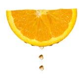 opadowa pomarańcze Zdjęcie Stock