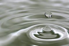 opadowa woda Zdjęcie Stock