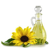 opadowego oleju stylizowany słonecznik Fotografia Stock