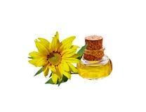 opadowego oleju stylizowany słonecznik Zdjęcia Stock