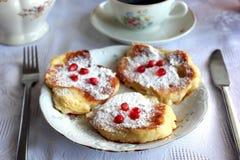 Opadowi scones Fotografia Royalty Free