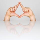 Opadowy symbol Fotografia Royalty Free