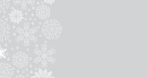 Opadu śniegu tło z kopii przestrzenią Fotografia Stock