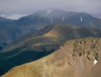 Opady deszczu wzdłuż Kontynentalnego podziału, Sawatch pasmo, Kolorado fotografia royalty free