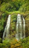 Opaekaa Falls, Kauai, Hawai'i Stock Images