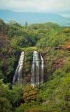 Opaekaa Falls, Kauai, Hawai'i Stock Photos