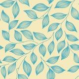 Opakunkowy herbacianych liści organicznie bezszwowy ilustracja wektor