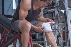 Opakunkowy uraz kolana Zdjęcie Stock
