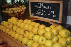 Opal Apples Royalty Free Stock Image