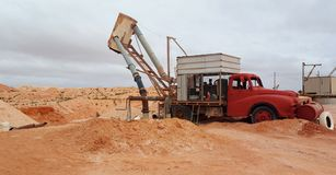 Opal Blower, Coober Pedy Stock Photography