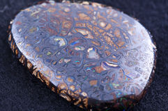 OPal boulder. As close up Stock Images