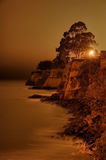 Opal Cliffs at Night Royalty Free Stock Image