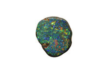 Opal gemstone. Natural unpolished opal gemstone royalty free stock images