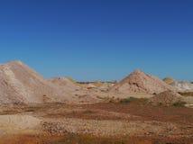 Opal kopalnie w Południowym Australia Fotografia Royalty Free