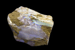 Opal mineral close up Royalty Free Stock Image
