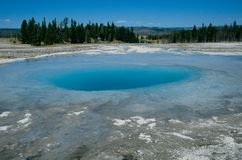 Opal-Pool. Opal pool in Yellowstone National Park, U.S.A Stock Images