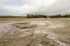 Opal Pool at Midway Geyser Basin Stock Images