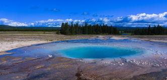 Opal Pool of Yellow Stone National Park Royalty Free Stock Image