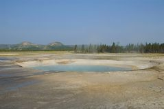 Opal pool, Yellowstone Stock Photo