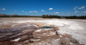 Opal Pool in Yellowstone National Park in Wyoming Royalty Free Stock Photos