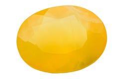 Opale de feu ovale Images libres de droits