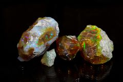 Opale précieuse Images stock