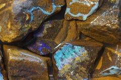 opalmineralsamling Arkivbild